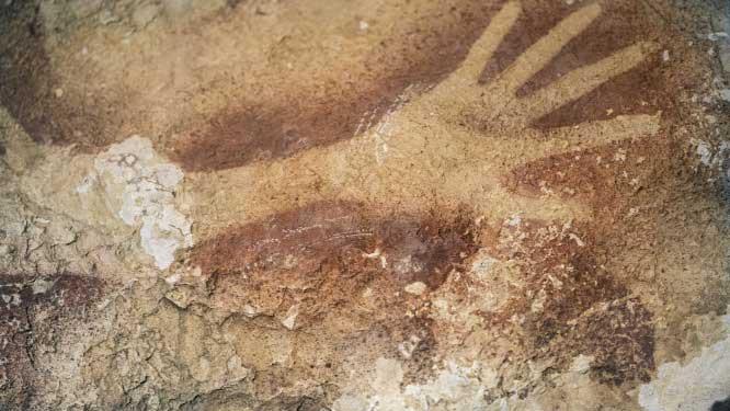 Barlangfestmények negyvenezer évvel korábbról