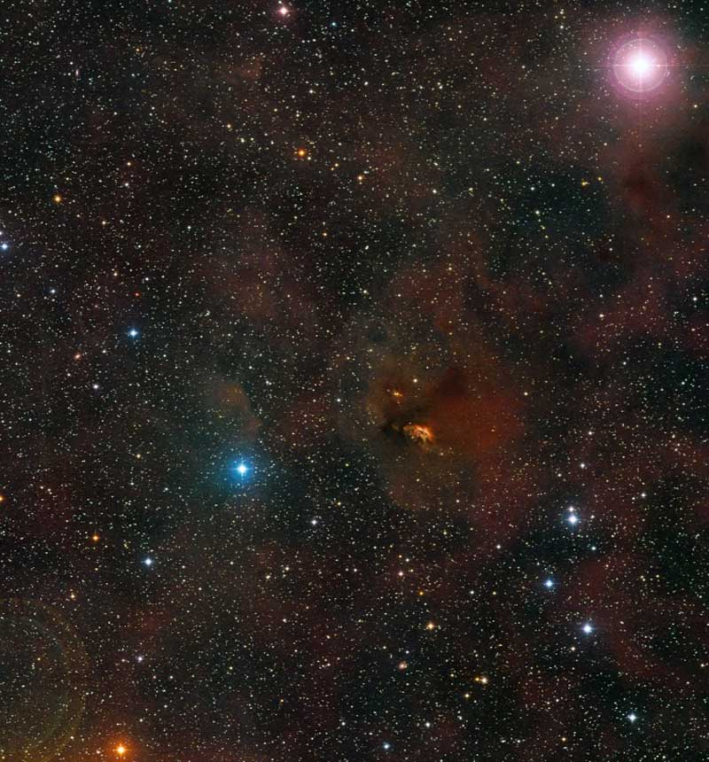 Először fotóztak születő bolygórendszert