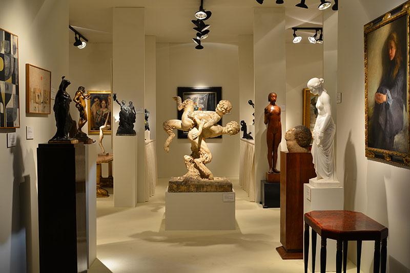 Régiség- és képzőművészeti kiállítás Brüsszelben