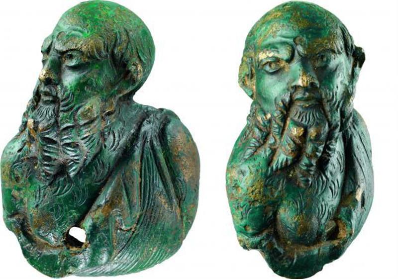 Római bronzszobrocskát tártak fel Dániában