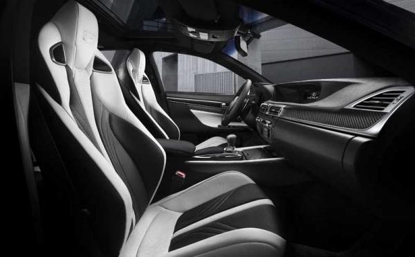 Igazi luxust ígér a Lexus GS F szedán beltere
