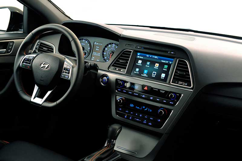 Google Android Autó Hyundai Sonata 2015 modellben