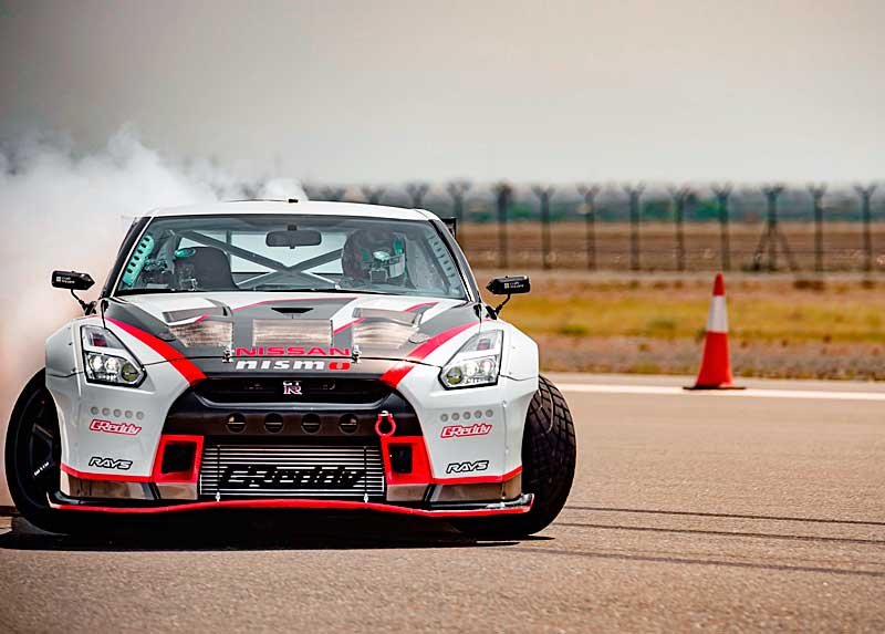 Új Guinness Rekord a Drift sebességi világrekord – Nissan Gt-R Nismo