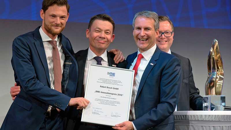 A Bosch Indirekt beszerzését innovációs díjjal ismerték el