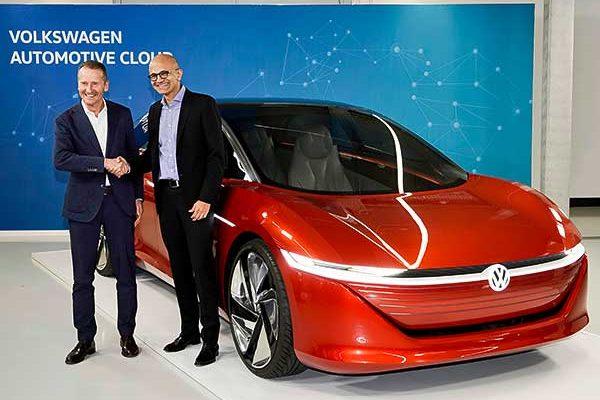 A Volkswagen és a Microsoft stratégiai együttműködésük előrelépéséről számolt be
