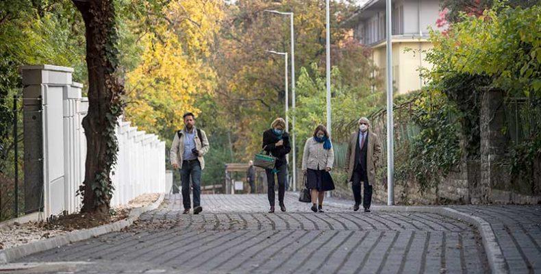 Felszentelték a kétszázadik leaszfaltozott földutat Budapesten